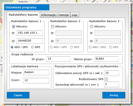TrackDMR aplikacla dla Mototrbo